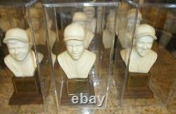 RARE 1963 Hall of Fame Busts Baseball Statue Complete Set (20) BABE RUTH TY COBB