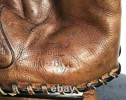 RARE EDD ROUSH Vintage 1920s Baseball Glove HALL OF FAME CINCINNATI REDS
