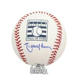 Randy Johnson Autographed Hall of Fame Official MLB Baseball BAS COA