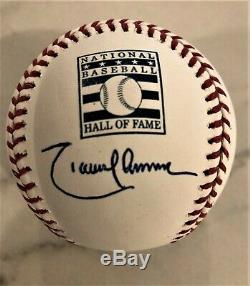 Randy Johnson Autographed Official Hall of Fame Baseball with JSA CSA