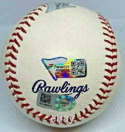 Randy Johnson Signed Hall of Fame Logo Baseball HOF'15 MLB and Fanatics Holo