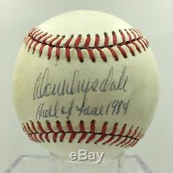 Rare Don Drysdale Hall Of Fame 1984 Single Signed NL Baseball PSA DNA COA