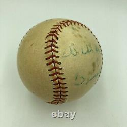 Rare Willard Brown Single Signed Negro League Baseball Hall Of Fame PSA DNA COA