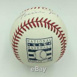 Rare Willie Mays Hall Of Fame 1979 Signed HOF Major League Baseball JSA COA