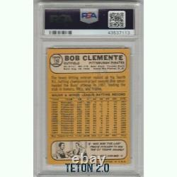 Roberto Clemente 1968 Topps #150 PSA 5 HOF Hall Of Fame Pittsburgh Pirates MVP