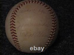 Roger Maris NL Hall of Fame & Stars Autographed Baseball JSA Certified