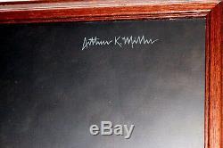 STAN MUSIAL original oil painting by Hall of Fame artist Arthur K Miller BV $15K