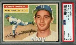 Sandy Koufax 1956 Topps white #79 PSA 4 Hall of Fame / Dodgers Legend