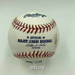 Stan Musial Hall Of Fame 1969 Signed Major League Baseball JSA COA