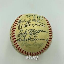 Stan Musial Joe Cronin Bob Gibson Hall Of Fame Multi Signed Baseball JSA