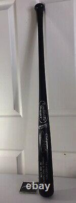 Sting Auto Signed Tna 1st Hall Of Fame Baseball Bat Black Aew Wcw Wwe Icon