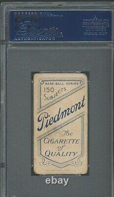 T206 Jack Chesbro PSA 1.5 Piedmont 150 Hall of Fame Portrait