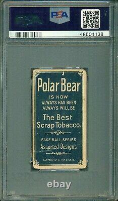 T206 Tris Speaker Rookie PSA 2 Polar Bear Hall of Fame / Centered 50/50