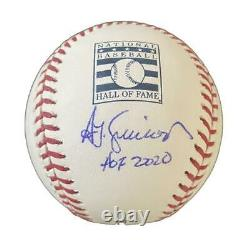 Ted Simmons St Louis Cardinals Autographed Hall of Fame Baseball Inscription JSA