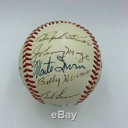 Ted Williams Stan Musial Hall Of Fame Legends Multi Signed Baseball JSA COA