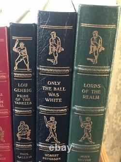 The Easton Press Collector's Edition Baseball Hall of Fame Library