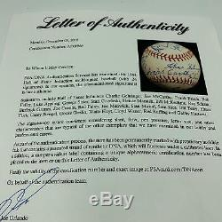 The Finest 1964 Hall Of Fame Induction Multi Signed Baseball On Earth PSA DNA