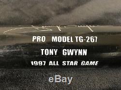 Tony Gwynn Autographed Baseball Bat All Star Game Rare Hall of Fame