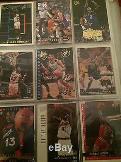 Trading cards, hall of fame players, michael jordan, magic johnson, and more
