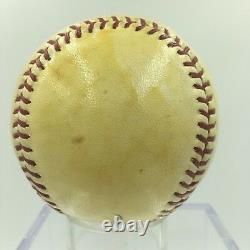 Urban Red Faber & Heinie Manush Hall Of Fame Class Of 1964 Signed Baseball JSA