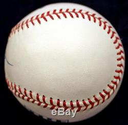 Whitey Ford Signed Auto Hall Of Fame Hof Logo Baseball Ny Yankees Beckett Coa